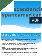 La Independencia Hispanoamericana