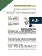El Modelo de Las Cinco Fuerzas de Porter. M (1)