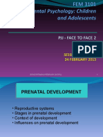 2 - Prenatal Development