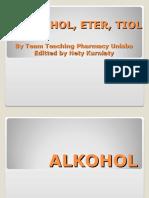 75. Alkohol Eter Tiol