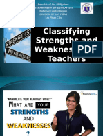 Classifying Strengths and Weaknesses of Teachers.pptx