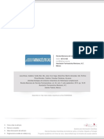 Actividad biológica de extractos metanólicos de Heliotropium amplexicaul