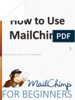 How to Use MailChimp and Make Easy Newsletters - Jayvee Cochingco - The Virtual Master