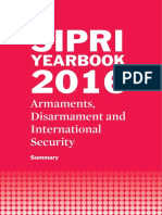 SIPRI Yearbook 2016 - Summary ~ Armaments Disarmament & International Security