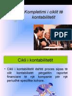 KONTABILITET-Kompletimi i Ciklit Te Kontabilitetit