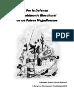 Por La Defensa Del Patrimonio Biocultural