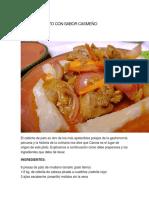 Ceviche de Pato Con Sabor Casmeño