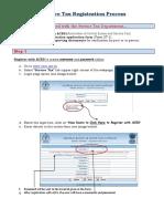 Service Tax Regn - Process