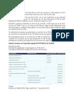 EL PIB DE COSTA RICA