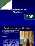 [PD] Presentaciones - Administracion Por Objetivos