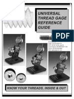 Universal Thread Gauges Rference-Ti Starret