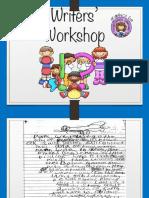 Writers' Workshop Handout