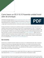 Como hacer un OS X 10.10 Yosemite unidad instalador de arranque | DanFrakes.com.pdf