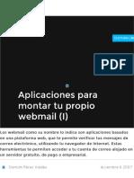 Aplicaciones para montar tu propio webmail (I).pdf