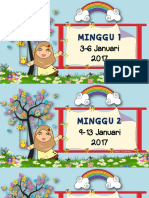 Minggu 2017 (B)