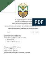 EMMU 7244-Machine Tool Vibrations and Cutting Dynamics-Exam July 2016[2]