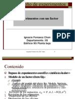 Diseño De Experimentos 1 factor