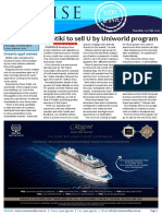 Cruise Weekly for Tue 07 Feb 2017 - Contiki to sell U by Uniworld, Oceania Cruises, NCLH, Royal Caribbean, Silversea Cruises, MSC Cruises