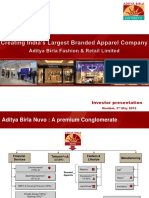 ABNL-Fashion Business Conolidation