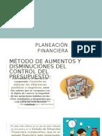 Método de Aumentos y Disminuciones en Los Estados Financieros