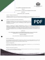 Fiscalia general del Estado, Reglamento Del Régimen Disciplinario del ministerio publico, BOLIVIA (vigente a 2016)