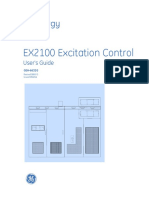 Geh 6632 EX2100 Excitation Control User's Guide