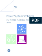 Geh 6676 Power System Stabilizer for EX2100 Excitation Control