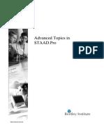 Advanced Training Manual STADD Pro Part-1