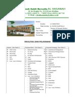 Data Rs Untuk Direktori Rs 2012