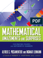 Mathematical Amazements and Surprises - Fascinating Figures and Noteworthy Numbers.