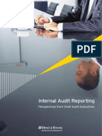 Internal Audit Reporting - Perspectives From Chief Audit Executives[1]