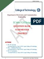 EC6601 VLSI Design Model Qb