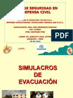 Simulacros de Evacuacion