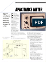 Simple Capacitance Meter