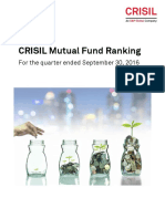 CRISIL Mutual Fund Ranking-Sep-2016