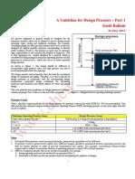 A guideline for Design Pressure - Part  1.pdf