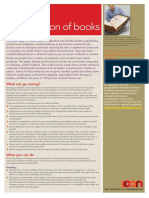 Care and Conservation of Books