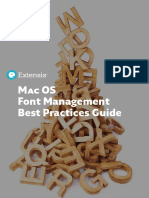 Mac OS Font Management Best Practices Guide