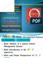 opuslms - Library Management System