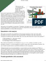 Wiki Risk Analysis