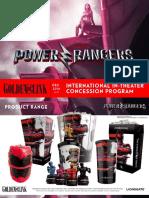 Power Rangers Sales Deck 020317