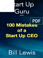 100 Mistakes of a Start Up CEO