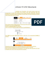Port Forwarding Di Router TP