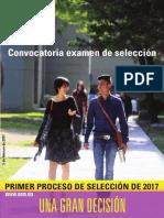 Convocatoria UAM 2017