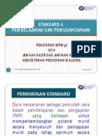 STANDARD 4-Pembelajaran Dan Pemudahcaraan