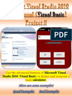 visual basic calculator project m5