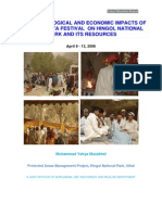 Hinglaj Mata Festival Hingol National Park report