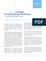 The Hygienic Design of Food Industry Brushware