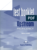 Upstream Proficiency C2 Test Booklet PDF