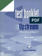 Upstream Proficiency C2 Test Booklet PDF